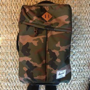 Herschel Camo Suitcase